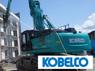 コベルコ建機の重機は海外需要が高い