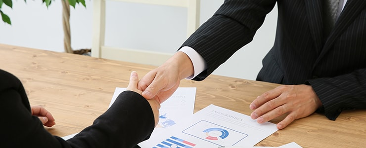 重機買取の際の交渉イメージ