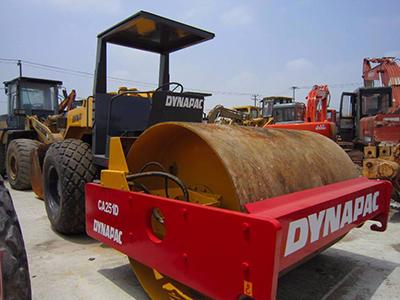発展途上国で需要が高い重機・ロードローラー