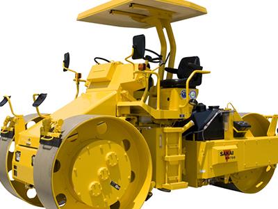 安定した需要のマカデム式ロードローラー